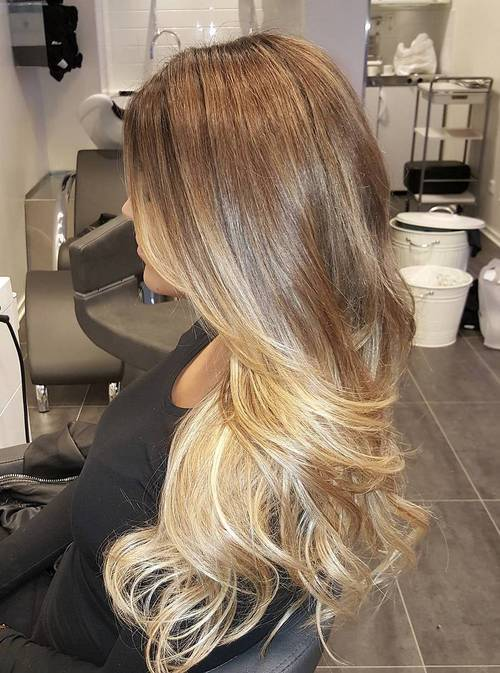 Blonde Ombre Hairstyles for the New Season