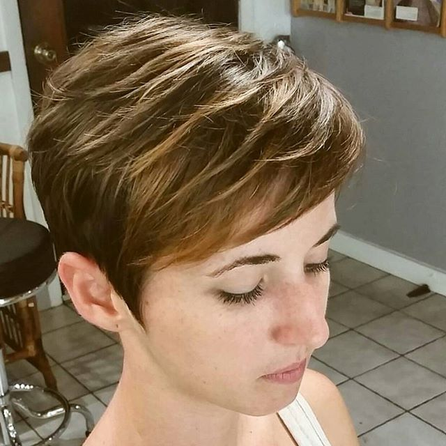 40 Hottest Short Wavy Curly Pixie Haircuts 2019 Pixie