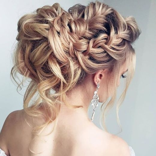 20 Killer Romantic Wedding Updos for Medium Hair