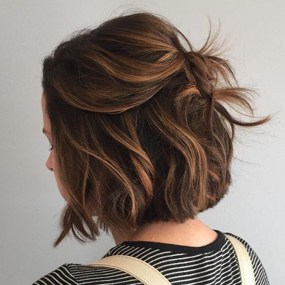 Cute Brown Bobs for