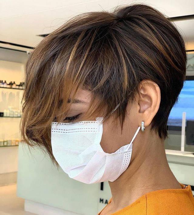 Lovely Layered Short Haircuts for Summer Chic!
