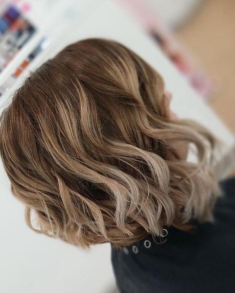 Wavy Inverted Bob Hairstyles