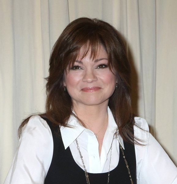 Valerie Bertinelli With Feathered Hairstyle