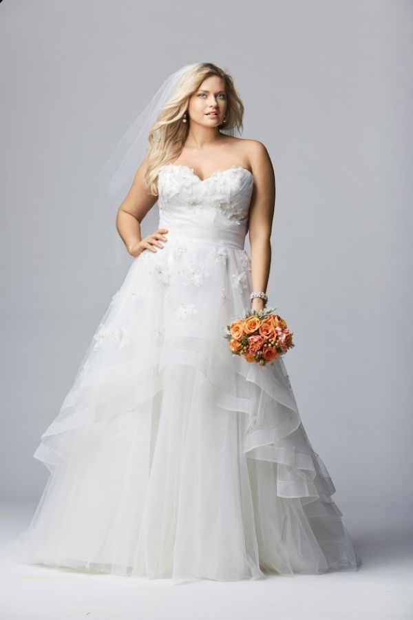 Plus Size Wedding Dress Designers Who Can Make Any Bride Feel ...