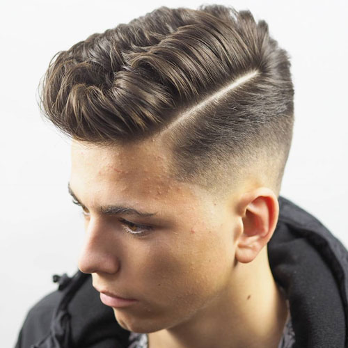 Taper Fade Haircut Types Of Fades 2018 Hairstyle Woman