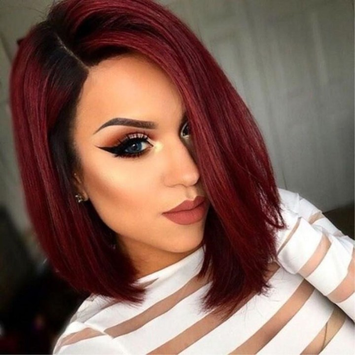 Cool Short Ombre Hair Color Ideas Hairstyle Woman