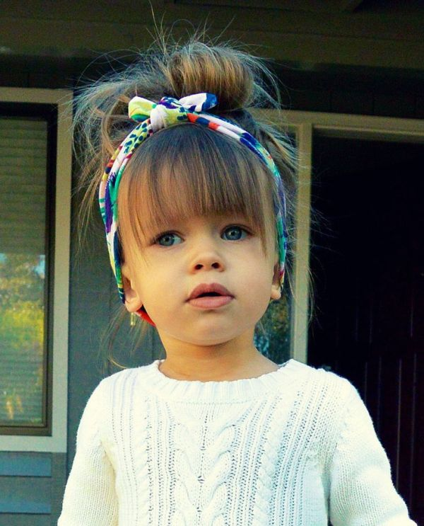 Cute Christmas party hairstyles for kids | Hairstyle Woman
