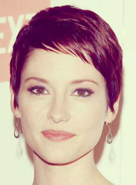 Beautiful Sweet Short Hairstyles With Bangs Hairstyle Woman
