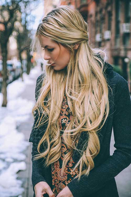 35 Hairstyles For Long Blonde Hair Hairstyle Woman