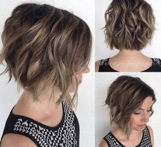 10 Messy Hairstyles For Short Hair Cut Color Update Hairstyle