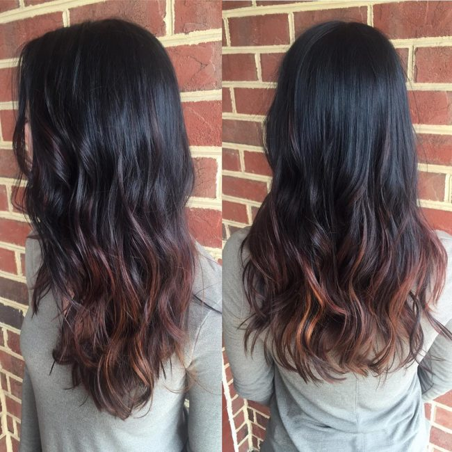 30 Bright Ideas For Dark Ombre Hair Stand Out In The Crowd