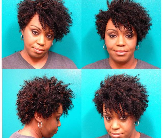 Curly Short Weave Hairstyle