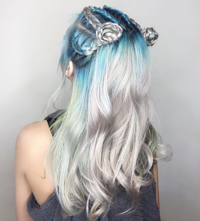 25 Dramatic Pastel Blue Hair Color Ideas Get Ready For