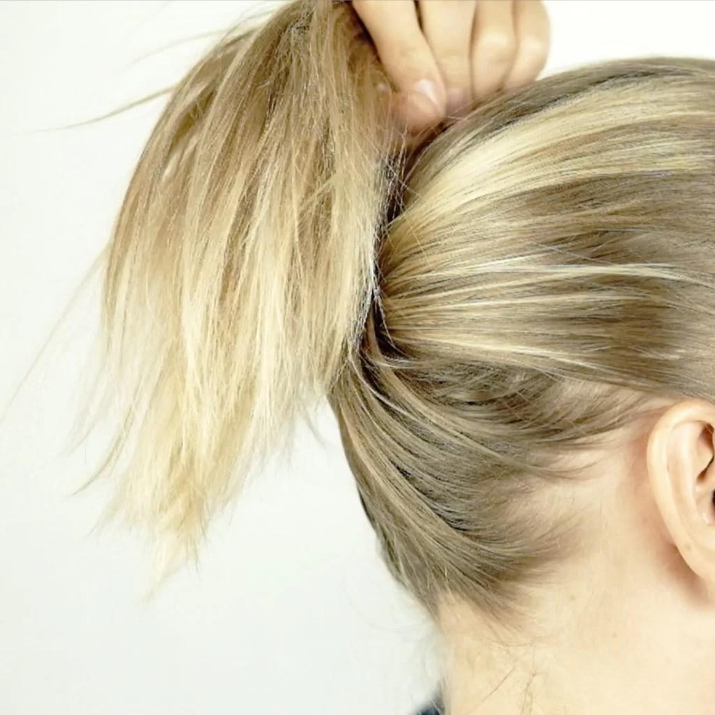 knold håropsætning