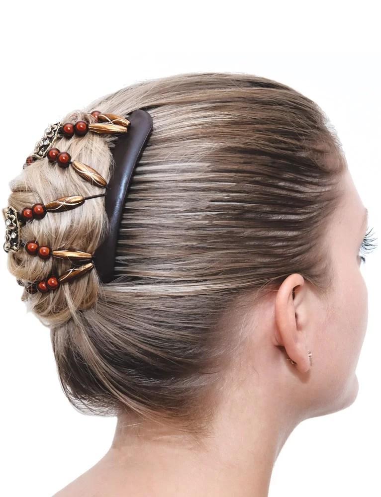 Sigrid hårspændet i hår