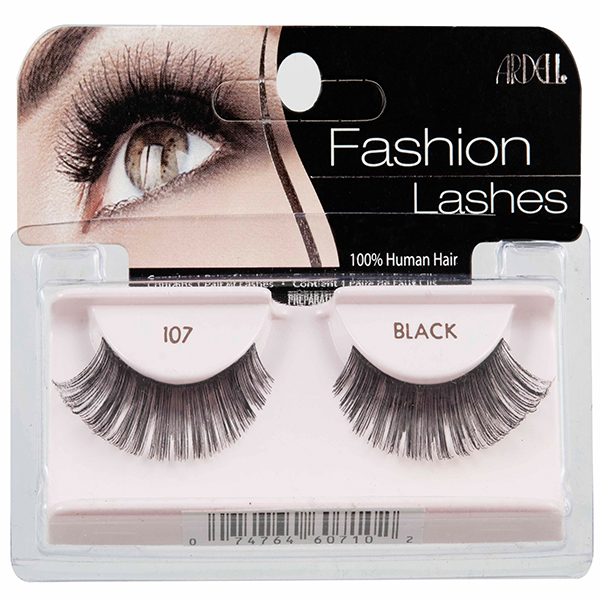 3862720f5f3 Ardell Fashion Lashes #107 Black | Lightweight, Comfortable & Re-usable