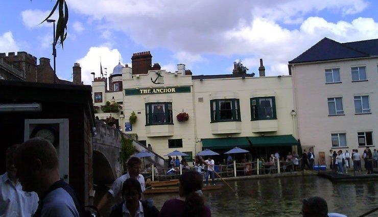 The Anchor Cambridge Cambridgeshire Pub Review - The Anchor, Cambridge, Cambridgeshire - Pub Review