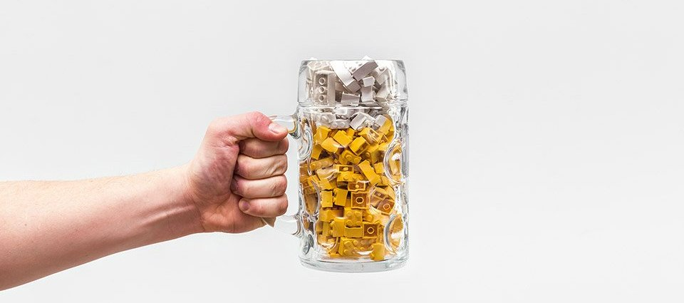 Photographer Turns LEGO Bricks Into Foods and 5 1 - Michał Kulesza - Lego photo project on Behance