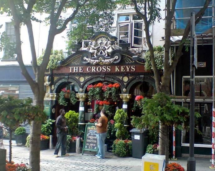 Cross keys Covent Garden London Pub Review3 - Cross keys, Covent Garden, London - Pub Review