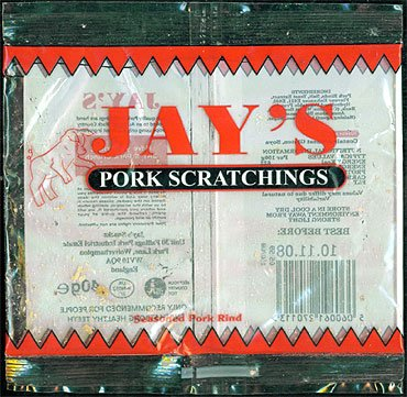 Jays Pork Scratchings Review2 - Jay's, Pork Scratchings Review