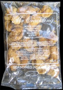Mr Crackling Seasoned Pork Rinds Review - Pork Scratching Bags