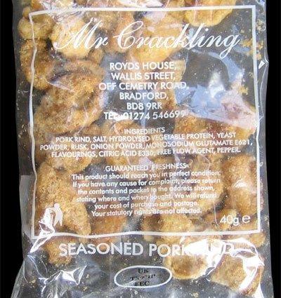 Mr Crackling Seasoned Pork Rinds Review - Mr Crackling, Seasoned Pork Rinds Review