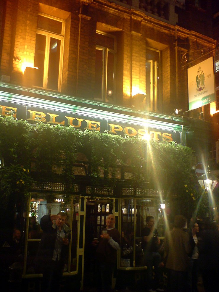 The Blue Posts Soho London Pub Reviewb - The Blue Posts (b), Soho, London - Pub Review
