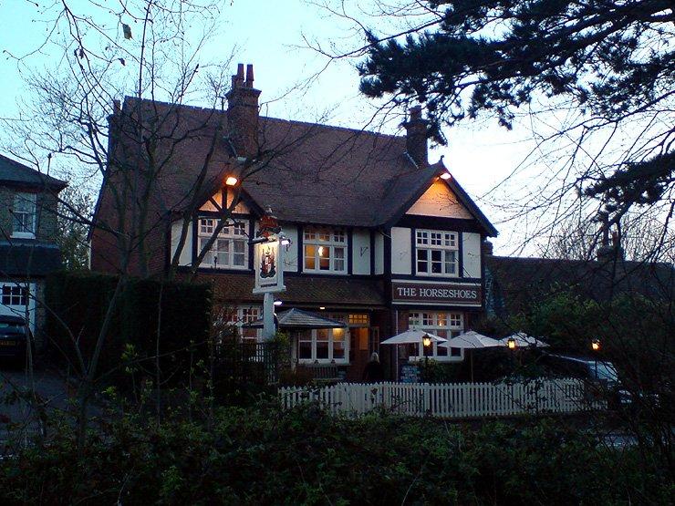 The Horseshoes Upshire Waltham Abbey Essex Pub Review - The Horseshoes, Upshire, Waltham Abbey, Essex - Pub Review