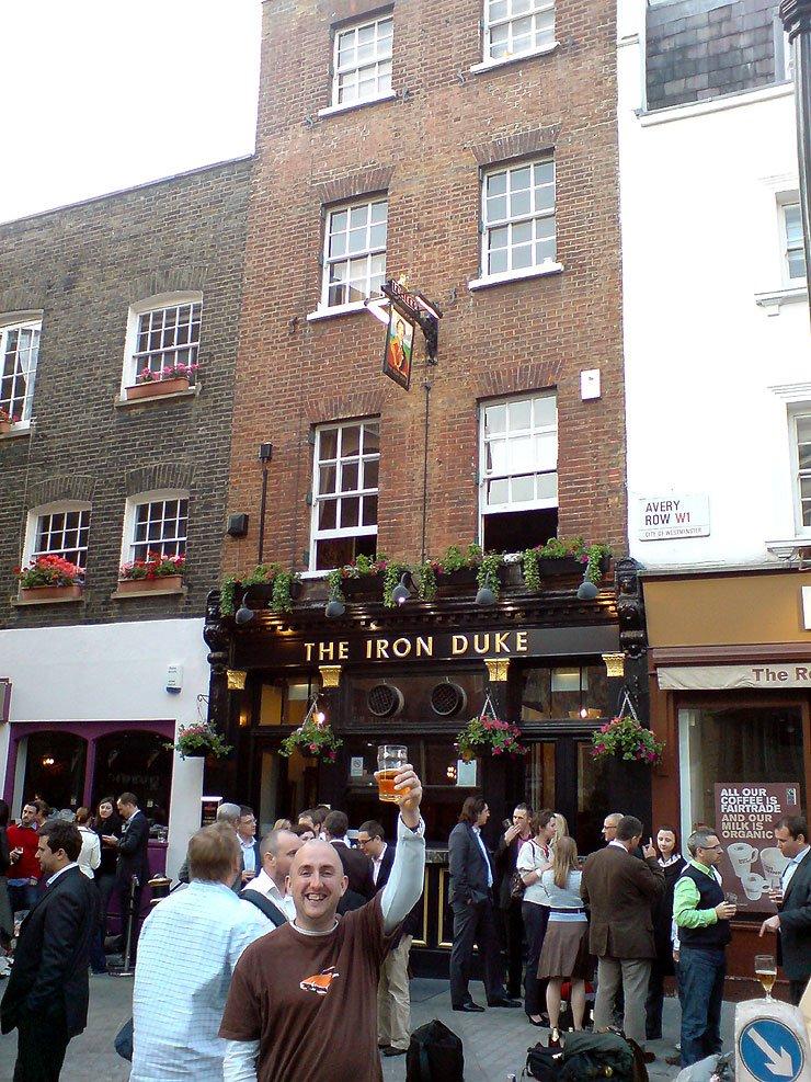 The Iron Duke Mayfair London Pub Review - The Iron Duke, Mayfair, London - Pub Review