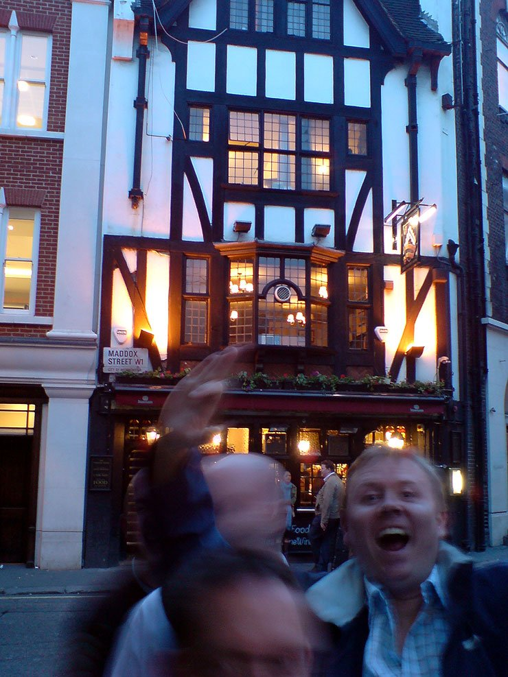 The Masons Arms Mayfair London Pub Review - The Masons Arms, Mayfair, London - Pub Review