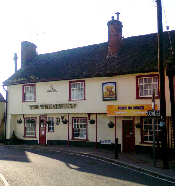 The Wheatsheaf Castle Hedingham Essex Pub Review - The Wheatsheaf, Castle Hedingham, Essex - Pub Review