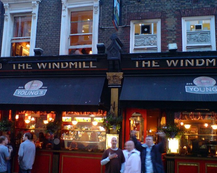 The Windmill Mayfair London Pub Review - The Windmill, Mayfair, London - Pub Review