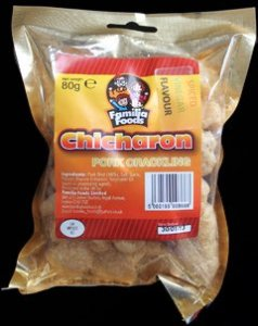 Familia Foods Chicarones Spiced Vinegar Flavour Pork Crackling Review - Pork Scratching Bags