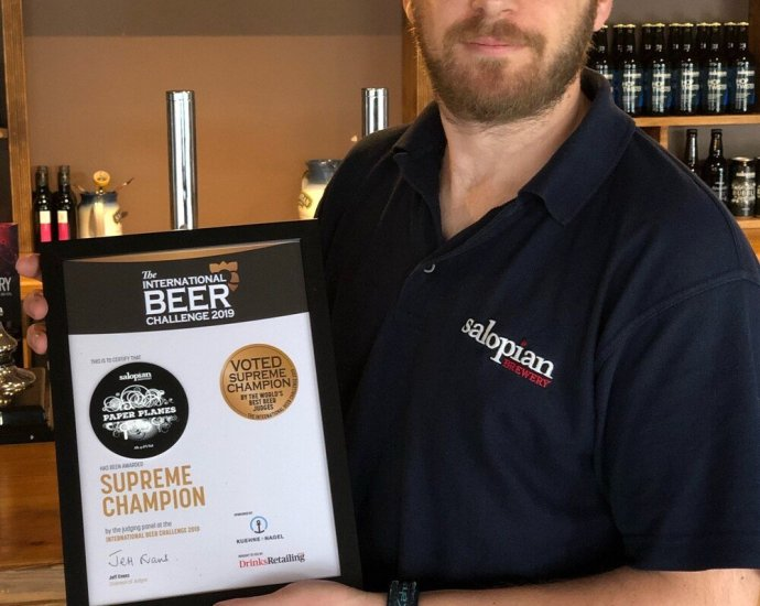 shropshire beer best in the world - Shropshire beer is crowned best in the world