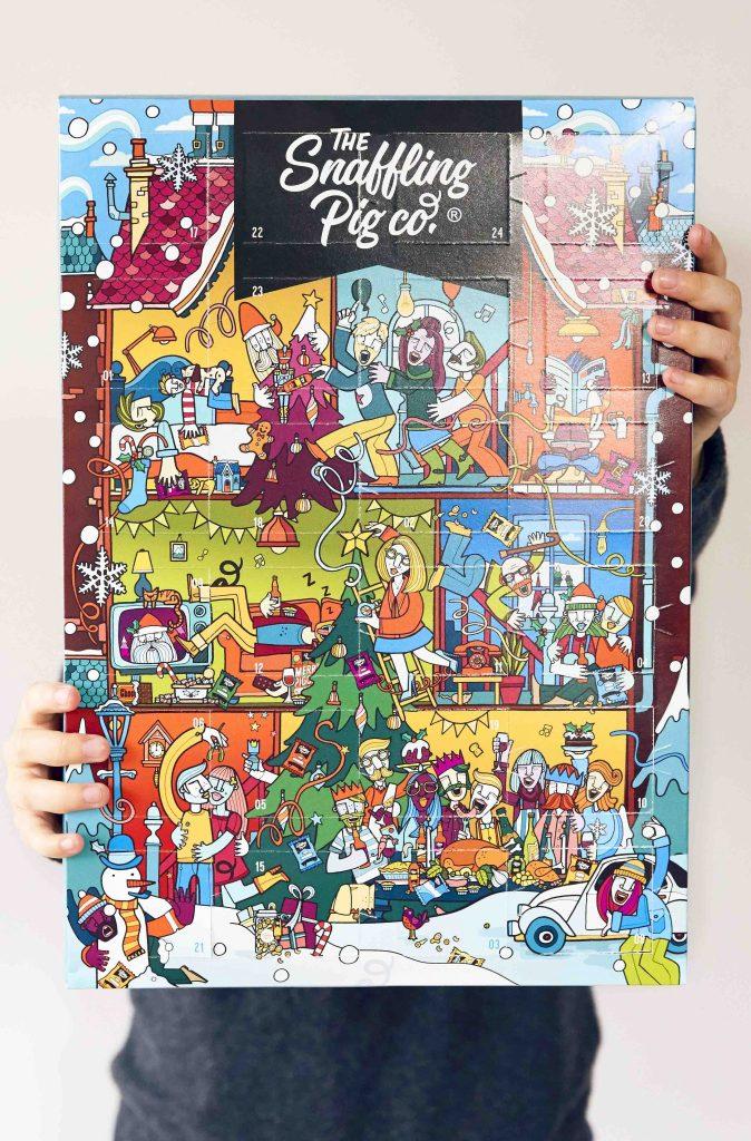 snaffling pig pork scratchigs advent calendar 674x1024 - The Snaffling Pig Pork Crackling Advent Calendar is BACK!