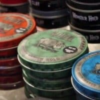 Impressive Reuzel Pomade Review - 4 Different Cans, Red, Pink, Green, Blue