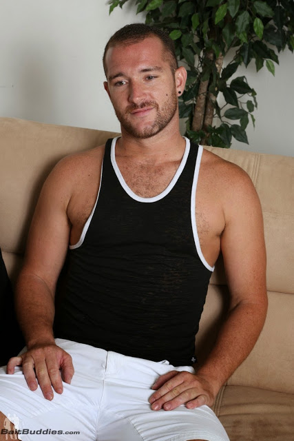cute hairy guy lucas allen with his dildo at bait buddies