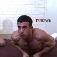 horny master jaime face fucks sub elliott at brutal tops