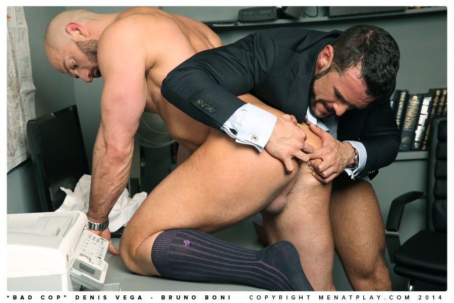image Gay cop fucks bad guy two daddies are