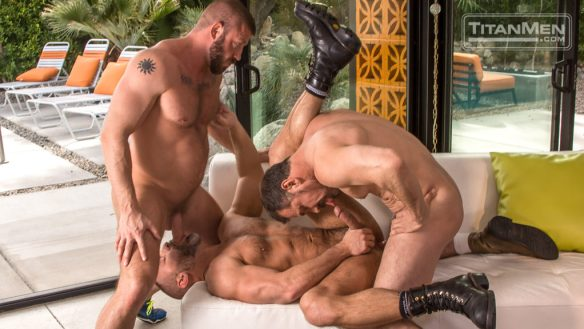 Hunter Marx and Max Sargent Fuck Officer Dirk Caber 0271