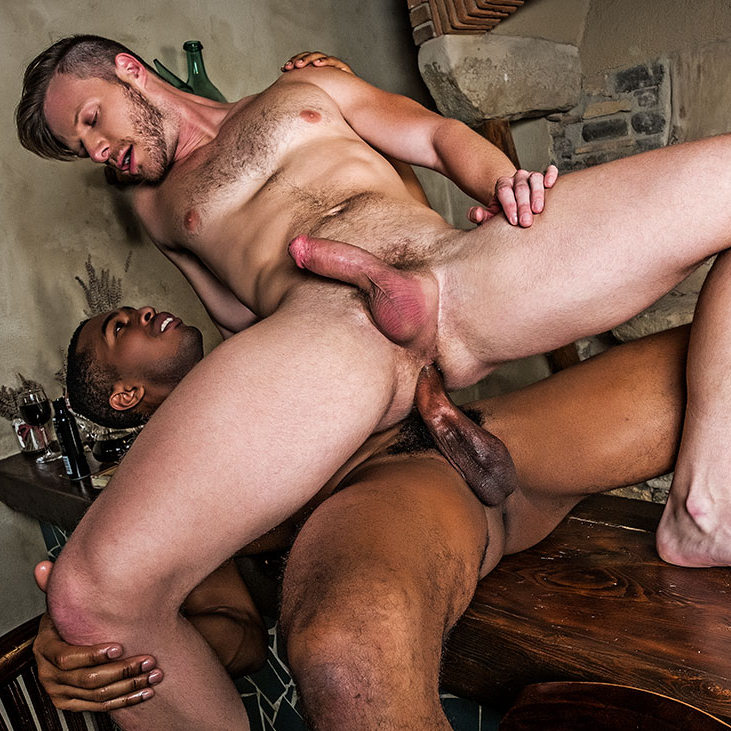 brian bonds rides raw black cock
