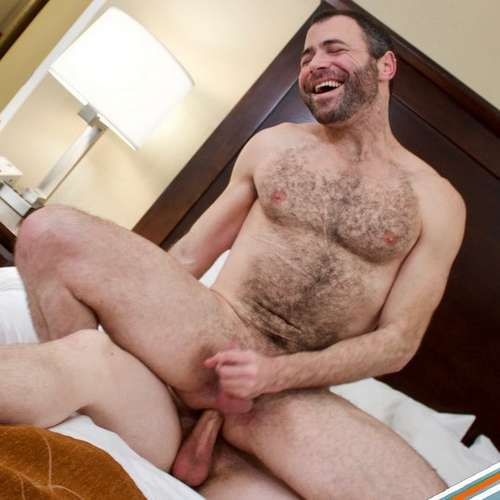 hairy bottom loves riding raw dick