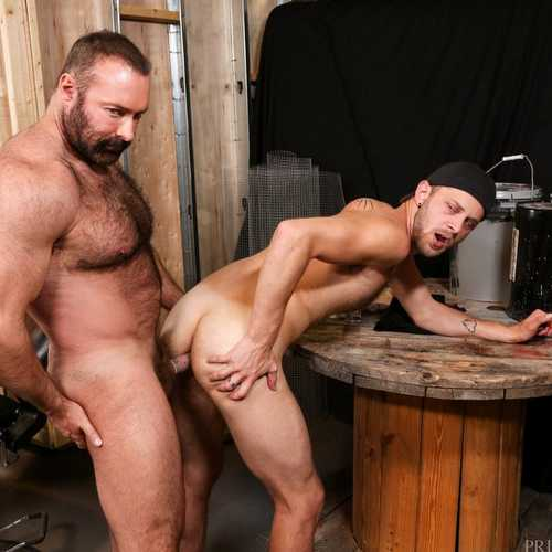 big bear brad kalvo fucks chandler scott hard