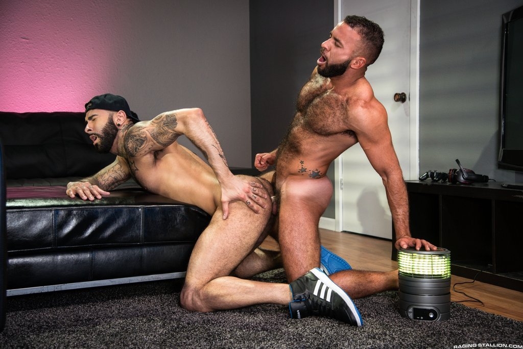 Hairy Guys Rikk York and Fernando Del Rio Flip Fuck 03