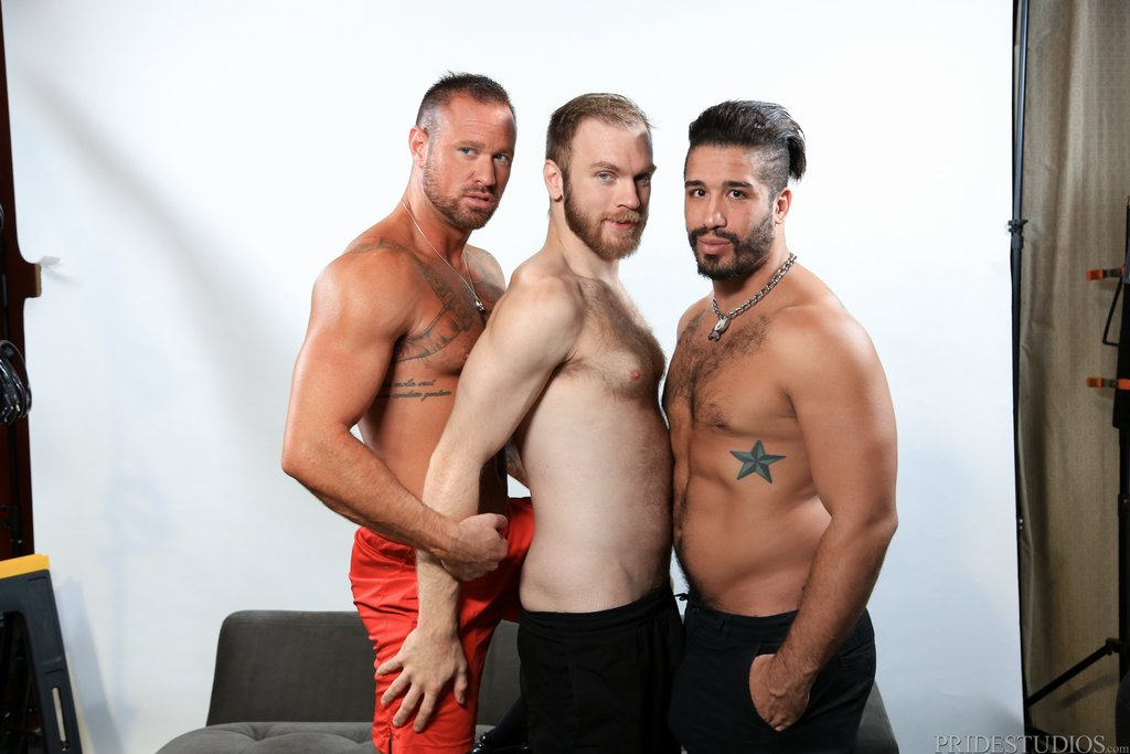 Two Hot Gay Models Have Threesome With Sexy Photographer 02