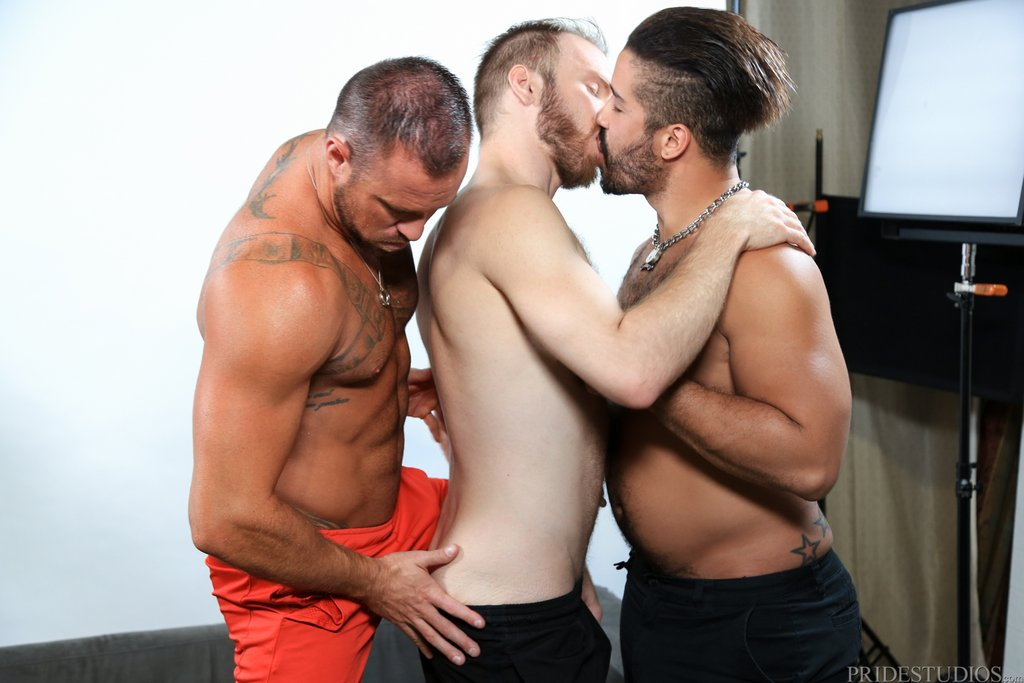 Two Hot Gay Models Have Threesome With Sexy Photographer 03