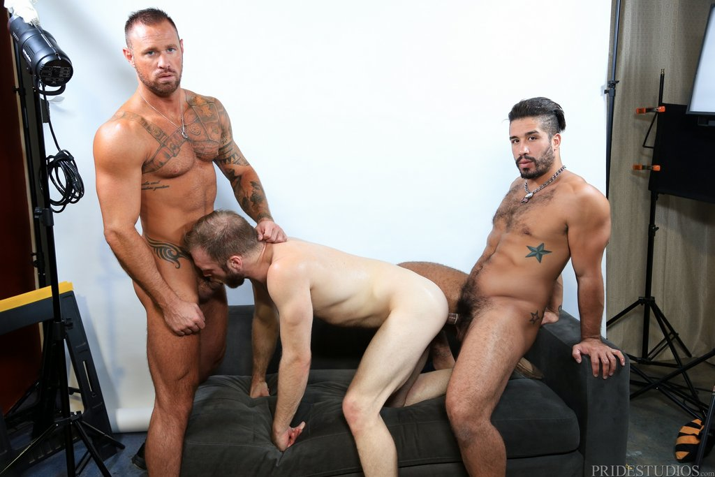 Two Hot Gay Models Have Threesome With Sexy Photographer 06