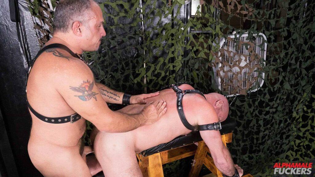 Leather Daddy Jay Ricci Barebacks Luis Casola 05
