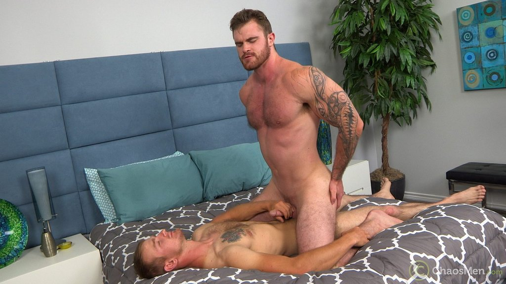 Lumberjack Caspar and Country Boy Kevin Reed Flip Fuck RAW 01