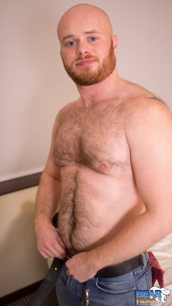 Ginger Bear Cub Chris Wydeman Gets Nude 07